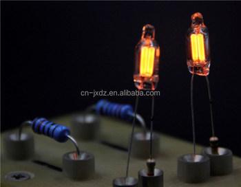 Neon Lamp With Butt Welding Resistor / Neon Lamp With Resistors