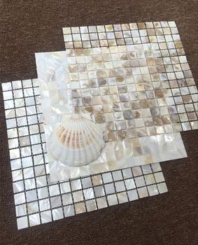 Beste 300*300 Wc Witte Mozaïek Shell Tegels Ruwe Parelmoer Mozaïek - Buy MU-14