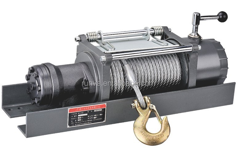 Runva Special Design Sliding Geraed Ring Clutch 5 Ton Hydraulic Winch
