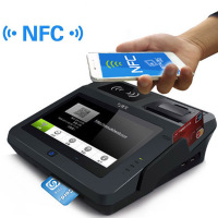 Jepower JP762A NFC Android Tablet POS with WiFi 3G Printer and Magcard/IC Card Reader