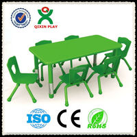 kids folding table and chair set(QX-195D)/kids furniture study table and chairs/multifunction table chair for kids