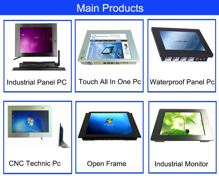 15-inch high performance embedded touch screen industrial panel pc
