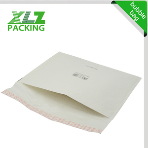 #2 8.5x12 white gold Kraft Bubble Mailers Padded Envelopes #2