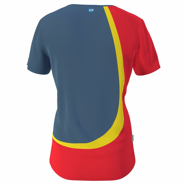 High performance quick dry women sports t shirts dri fit for Custom dri fit t shirts