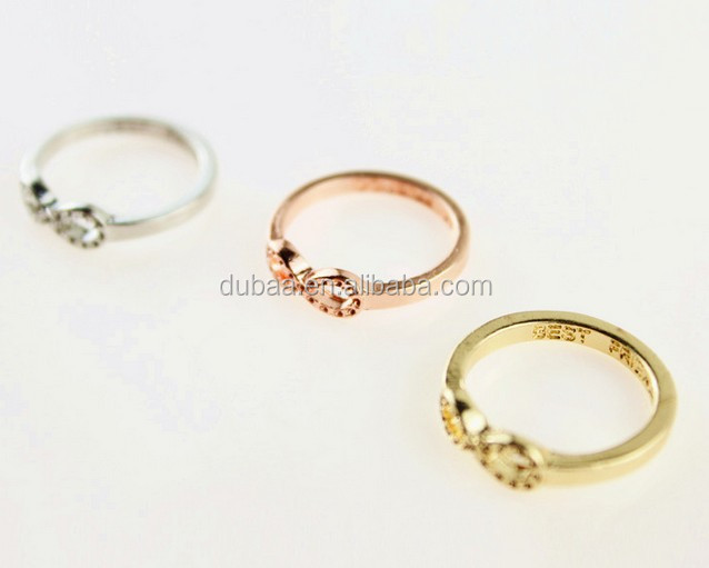 Forever Cheap Infinity Ring Wholesale Infinity Symbol Ring