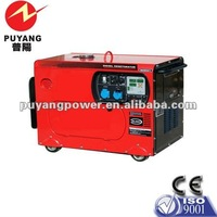 CE low noise 3kw portable generator silent in stock China
