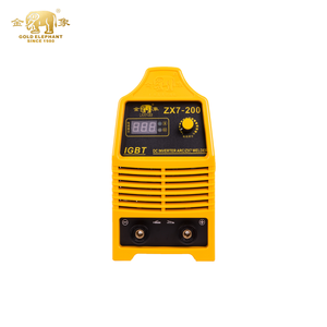 Stable zx7-200 high efficient engine welder inverter dc mma arc 200 weld smart welder of pulse stick welder