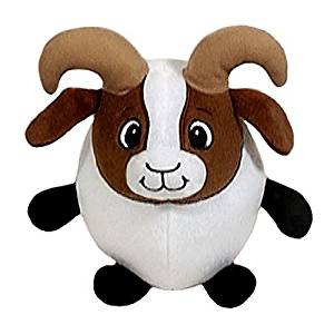 Buy Fiesta Toys Baby Brown And White Billy Goat Stuffed Animal Plush