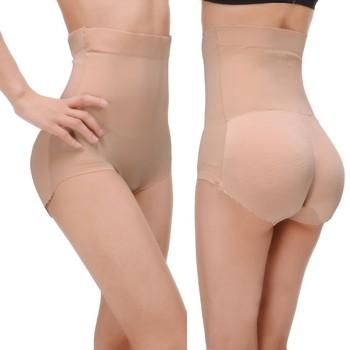 eeb3d83f882 Lady buttock padded panties butt lift enhancer seamless underwear shaper