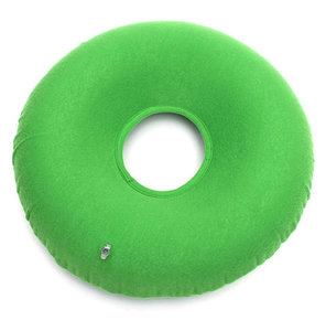 Inflatable Donut Ring Air Cushion Hemorrhoid Treatment Seat Pillow for Tailbone Pain