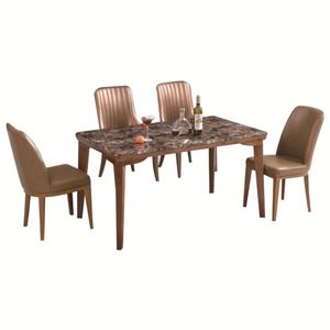 Modern hotel dining room/cafe table and chair furniture set hot sale dining room set modern dining table and chair