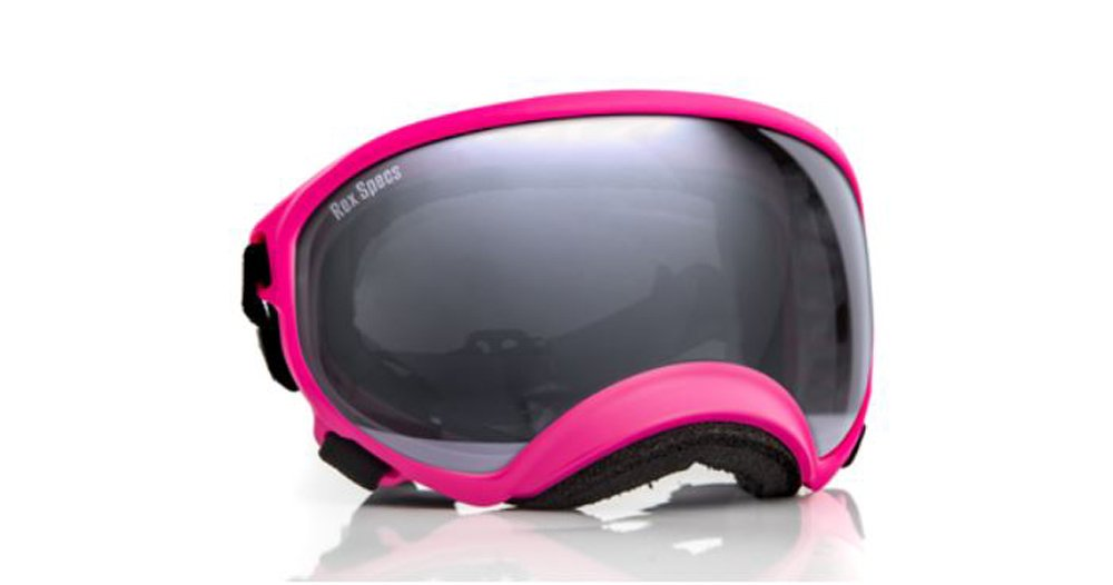 100/%UV400 Wrap around Goggle shiny Black plastic frm w// ambor ploy carbon lense