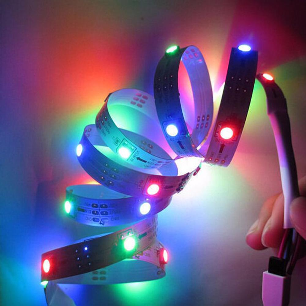 Factory price Magic dream color WS2812b digital addressable rgb led strip light 30Leds/m