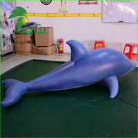 Swimming Pool Toys Air Fish Model Cheap Custom Inflatable Dolphin for Sale