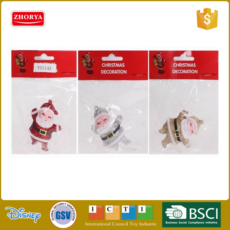 Cute Santa Claus decked out in their Christmas clothes kids Christmas decoration toy cheap festival gift