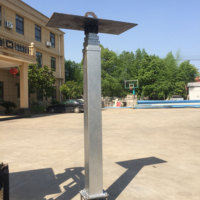 Telescopic Mast Pole for Lighting and Telecommunication