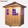 3-4 Person With Roof Infrared Sauna House Outdoor