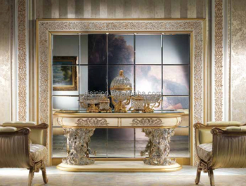 Grote Staande Spiegel : Franse barok stijl console tafel antieke metalen frame met grote