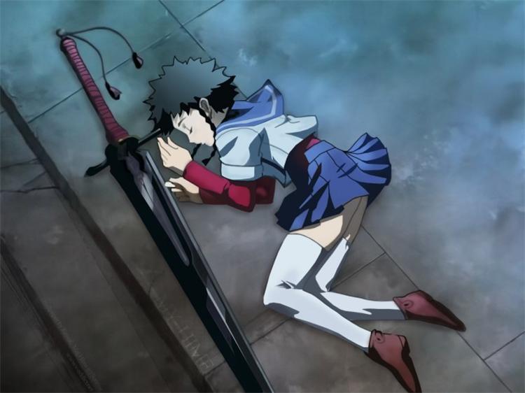 Manga Cosplay Mein Hime Mikoto Minagi Schwert Miroku Anime