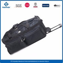 China Good Quality Camp Roll Duffle Bag Carry With Wheel