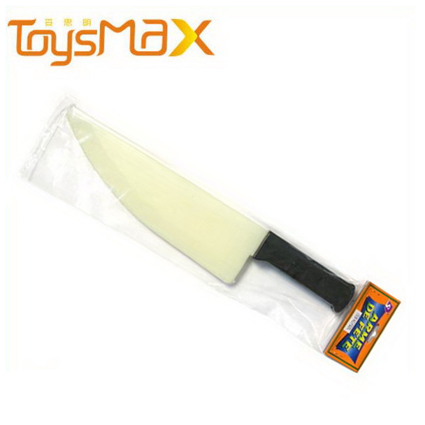 Halloween Plastic Prop Knife Funny Glowing In The Dark