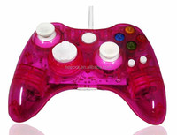 Transparent Led Wired Joystick For Xbox 360 Controller - Buy For ...