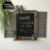 Novel Shabby Chic Blind Window Decorative Wooden Advertising Chalkboard