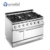 F9080EER Furnotel Electric/Gas Cooking Range 4-Hot Plate Cooker With Oven