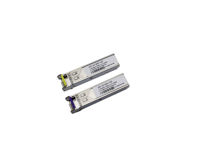LODFIBER GLC-FE-100BX-D//GLC-FE-100BX-U Cisco Compatible 100M 1310//1550nm BiDi 10km Transceiver