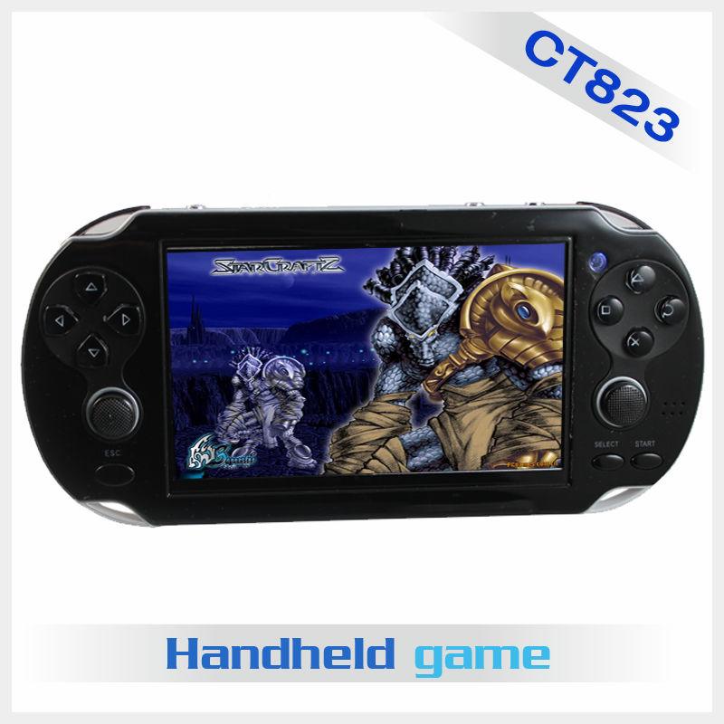 4.3 inch CPT screengames mp5 free to unload,32 bit video play game with camera