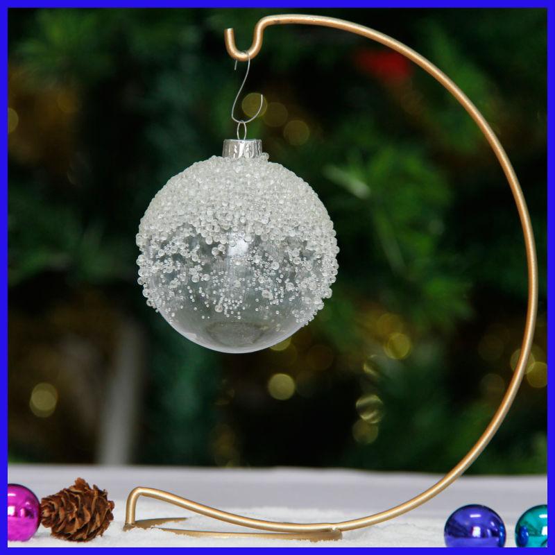 gro handel modische milchglas ball ornamente. Black Bedroom Furniture Sets. Home Design Ideas