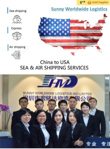 exhibition sea shipping services from china to CES/OFC 2018 expo