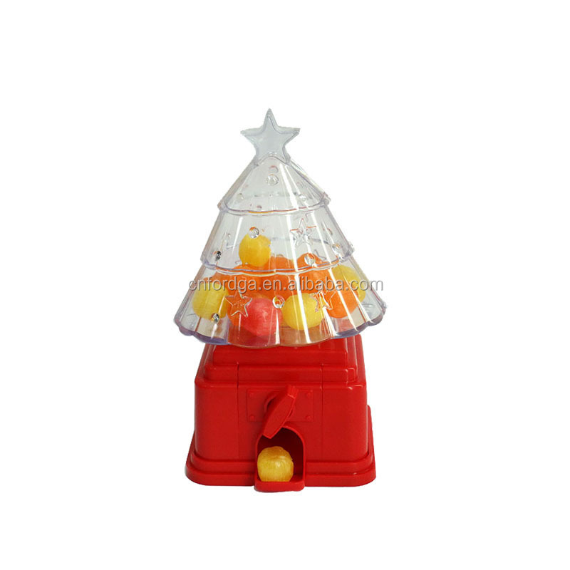 Christmas Tree Shaped Candy Dispenser Fine Toys for Kids