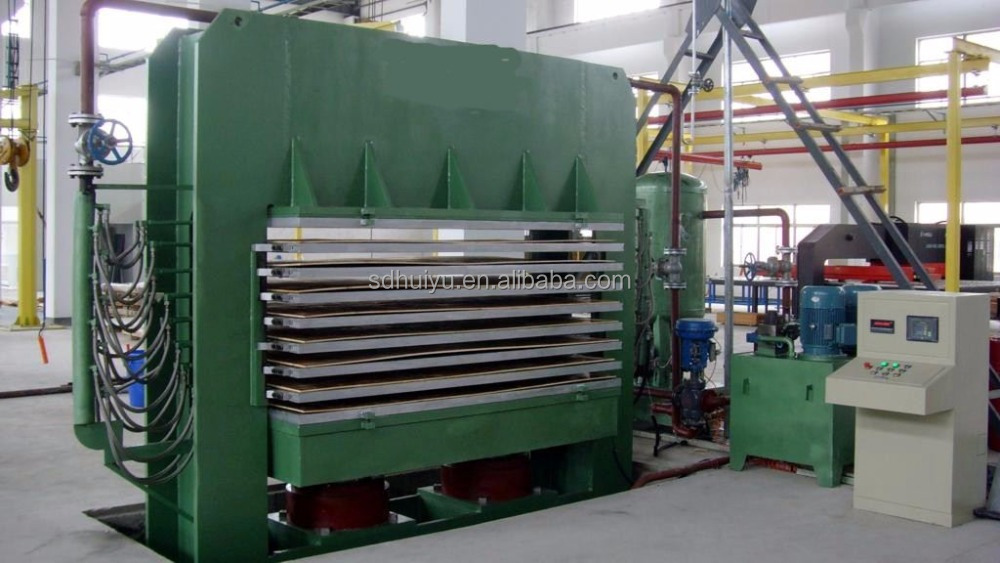 Wood hot press machine wood heat press machine