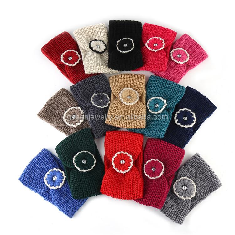 Venta al por mayor diadema tejida a crochet-Compre online los ...