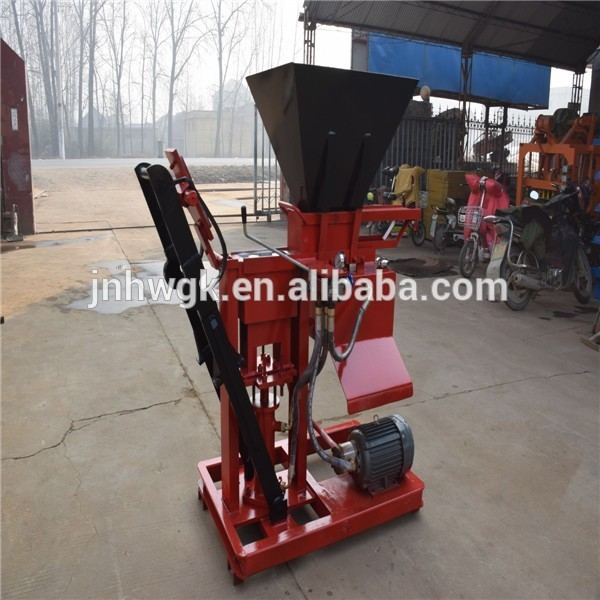 cement block making machine