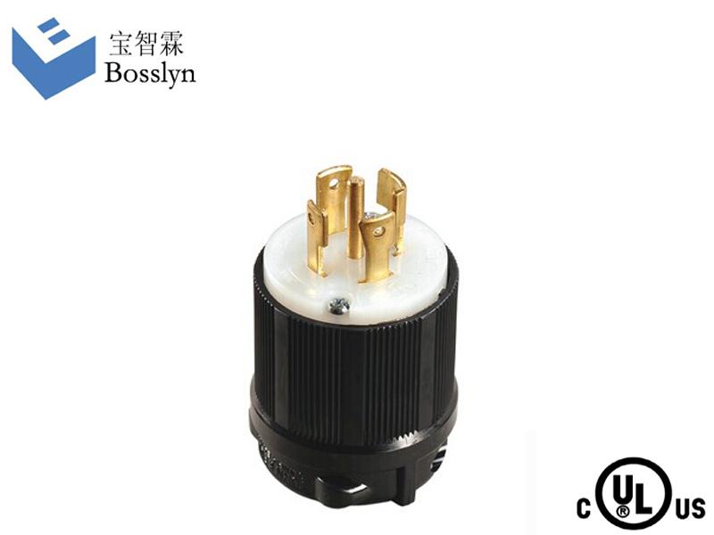 Wholesale NEMA L22-30P 30A 277/480V male Plug twist-lock plug ...