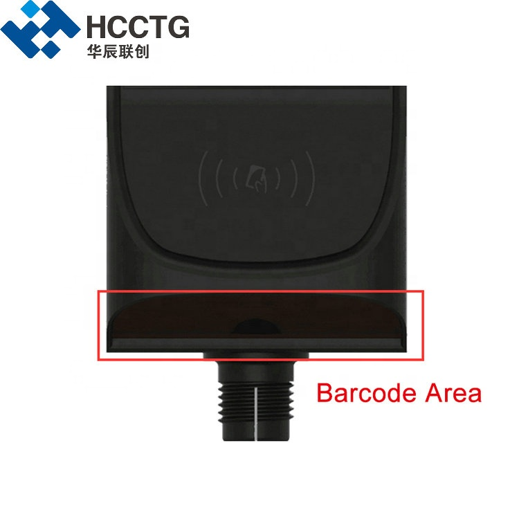 Linux 4.3inch NFC Contactless Payment Terminal For Canteen Top-up Service HT80-A2