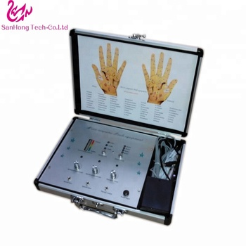 Free shipping home use Low frequency Hand Points acupuncture therapy device with CE