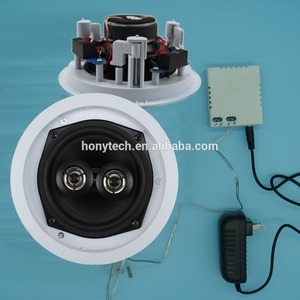 wireless dual coil 5 inch ceiling speaker