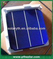 high efficiency silicon wafer 4-4.64W mono crystalline Solar Cell for solar panel DIY
