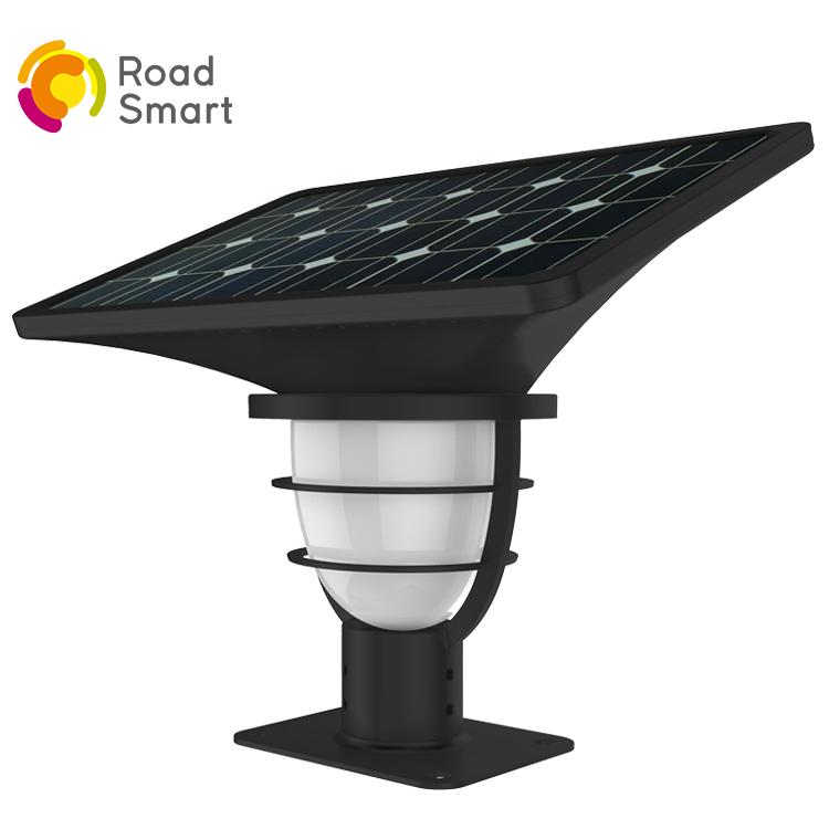 Aluminum Alloy High Lumen Solar Outdoor Yard Garden Light for House