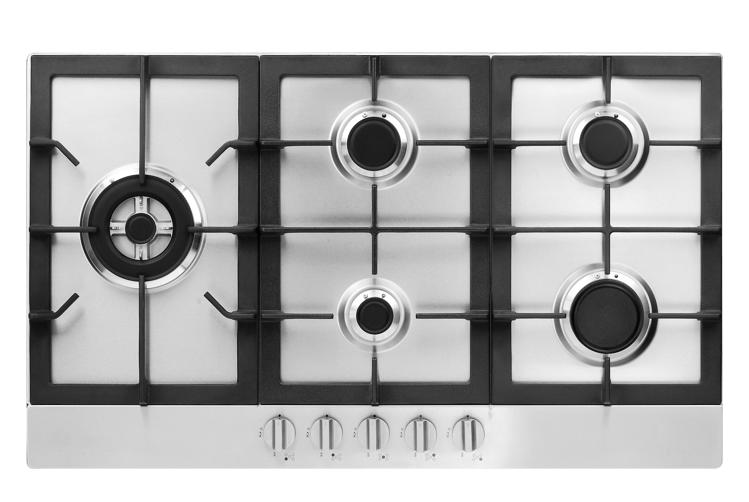 Fagor FA-850SLTX 5-Burner Gas Cooktop with Universal Ignition, 30-Inch, Stainless Steel