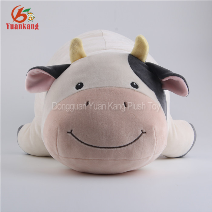 Milka Lying Pink Cow Plush Pillow Toys Free Stuffed Cow Toy Pattern