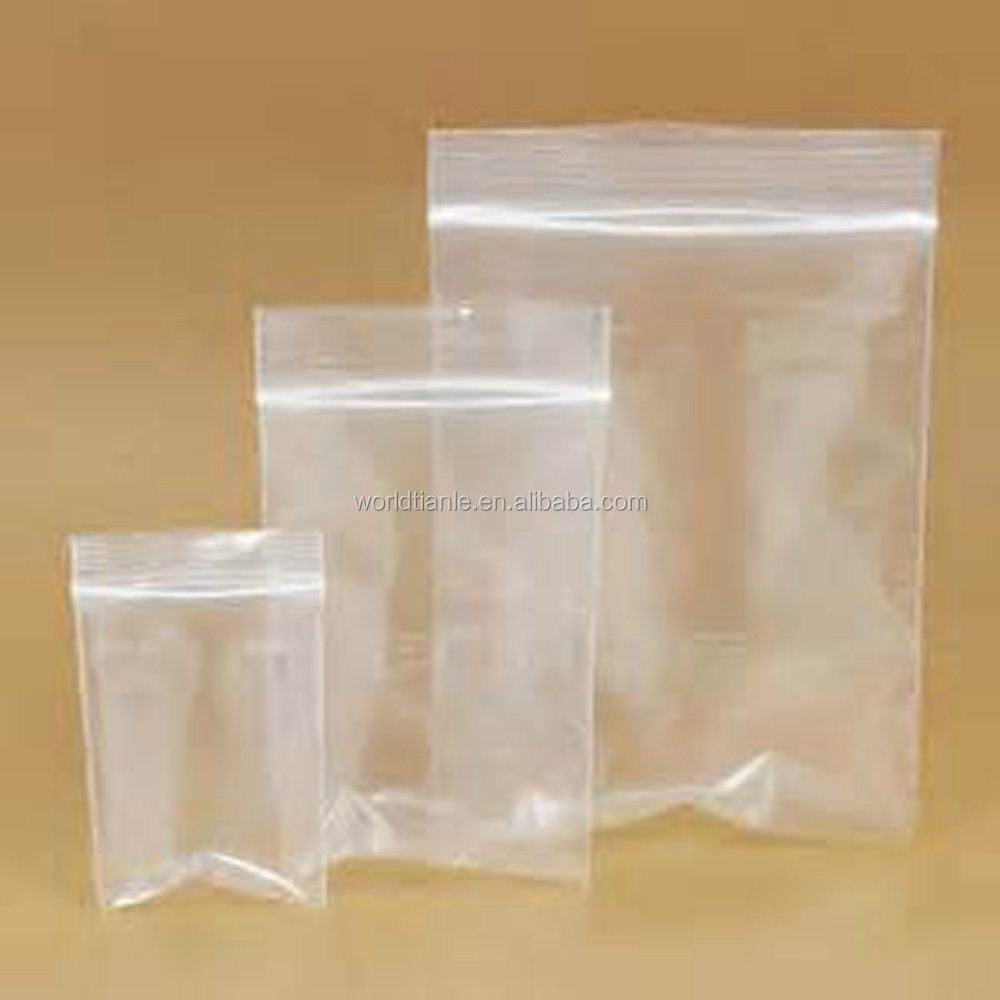 Pe Stand Up Pouch Biodegradable Zipper Top Food Grade Plastic Ziplock Bags Bag