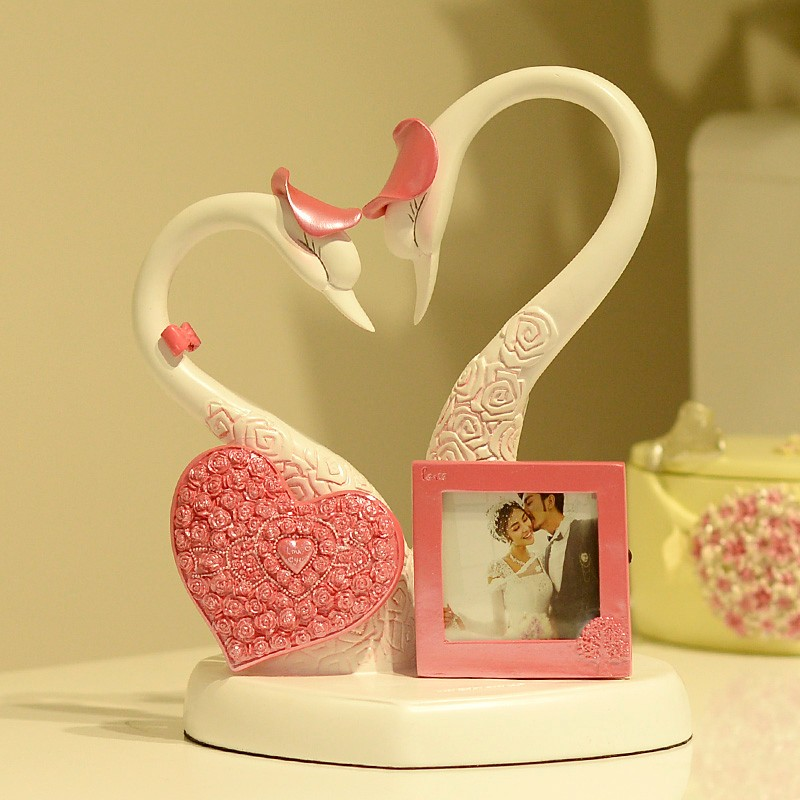 Home Decoration Swan Photo Frame Useful Wedding Gifts