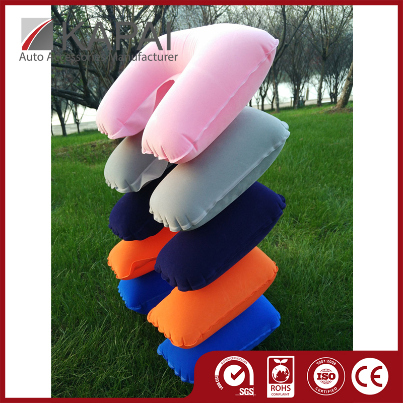 First Rate Air Touch Breathable Neck Travels Pillow Inflatable