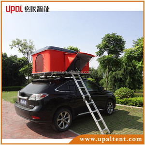 SUV Auto Hard Shell Roof Top Tent For 2 Person outdoor camping
