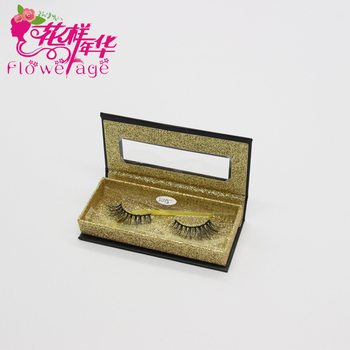 Custom Eyelash Packaging Individual Faux Silk Eyelashes