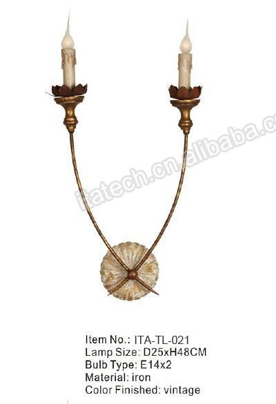 Vintage Fan Shape Industrial Loft Kprea Style Table Lamp Edison ...